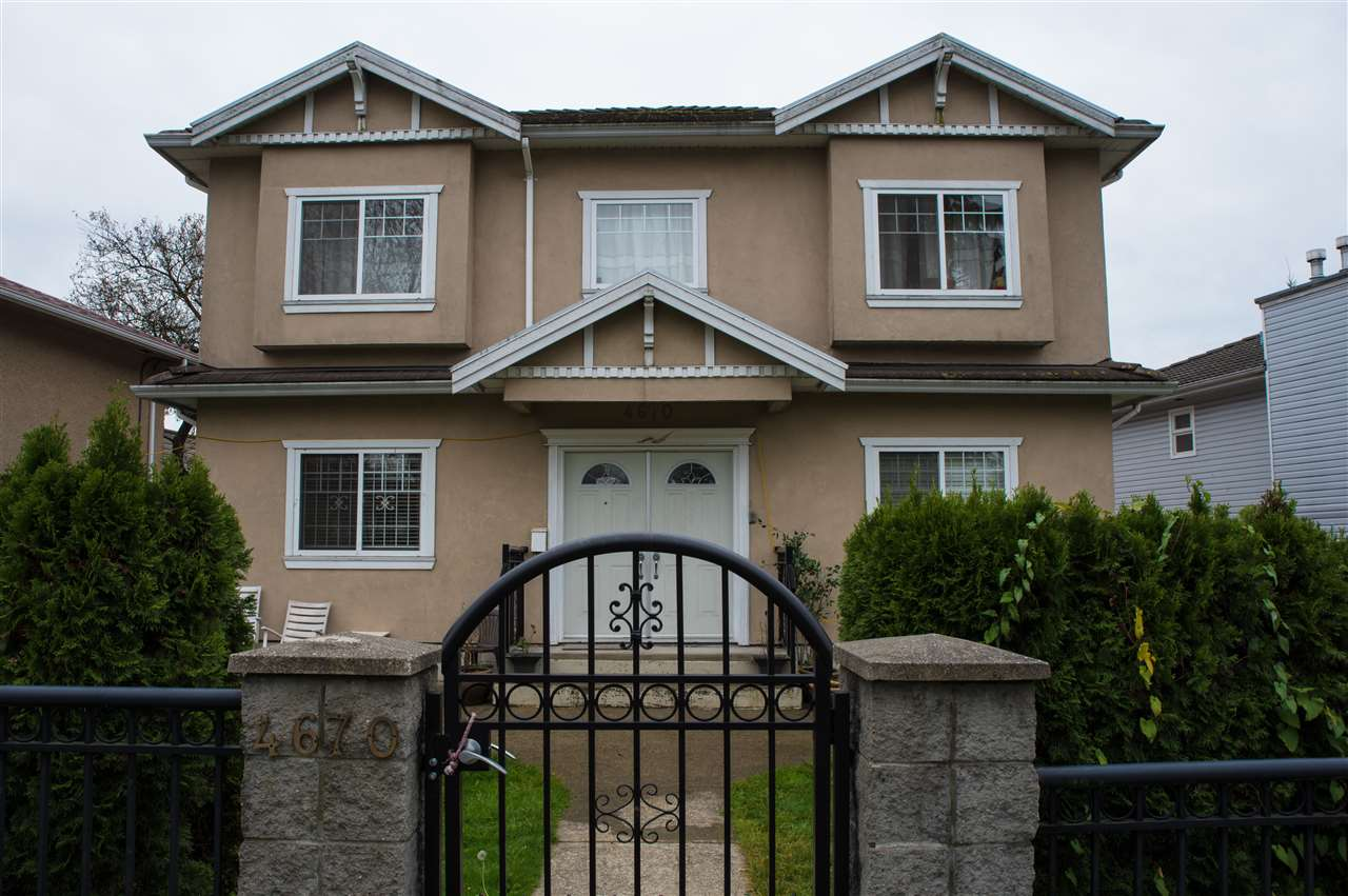 ATTENTION: LARGE FAMILIES OR INVESTORS! This well-kept home features 7 bedrooms, 4 bathrooms, 2 laundries, radiant heat, custom draperies, finished basement with 2 separate entrances, large lot with front fenced yard and plenty of parking. Located close to bus, BCIT, shopping malls and all amenities. Call to view.
