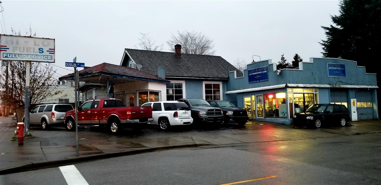 Investment property! 1908 House and 1930 Shop zoned C-2A with dual cash flow.  OCP provides possibility of 6 Stories. Residential rental and service garage both rented to long term tenants. Service Station is inactive, fuel tanks have been removed and environmental testing completed.