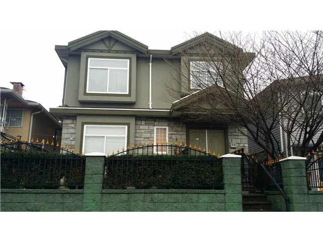 Vancouver Special located in the popular South Vancouver which boasts 2 levels with 3 bedrooms up & (2+1) suite mortgage helpers on the main floor. House features laminate flooring, granite counters, crown mouldings, bay windows & a 2-car detached garage. Catchment consists of Langara College, YMCA, Sunset Community Centre, Langara Golf, Oakridge Shopping Centre, Superstore & skytrain. CAN ANYONE SAY HOME SWEET HOME!
