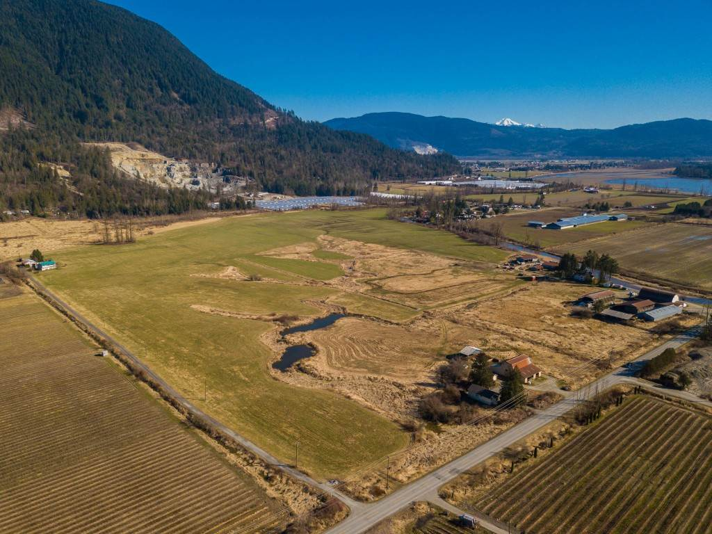 18.6 acres with a House and Barn in a Desirable Farming Community. Please do not go onto property without confirmed permission. This property can be purchased with adjacent properties located at 10494 Farms Road (18 acres MLS R2328006), Farms Road (42 acres MLS R2328078), 10314 Farms Road (30 acres MLS R2328000)