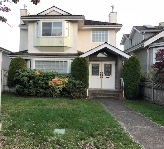 Investors alert! Marpole community plan, for townhouse development. House is still in good conditions, great holding values!! Do not disturb owners. Sell as-is, where-is. Measurements are approx, buyer to verify if important. May buy together 62, 64, 76, and 82 W63rd Ave. for total site area~15,322sqft