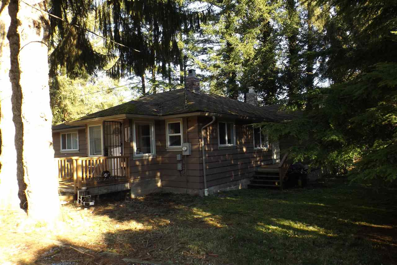 STAVE LAKE AREA - 2.49 ACRES. Waiting for your ideas. This property features a great 30' x 50' two bay shop with 2 - 12 foot high (12 foot wide) doors and 200 amp service to the property. 12' wide x 30' deep carport area and a 20' x 24' shop for additional storage. Rancher with 3 bdrm, 2 bath and unfinished basement. Move in now and build your dream home in the future.