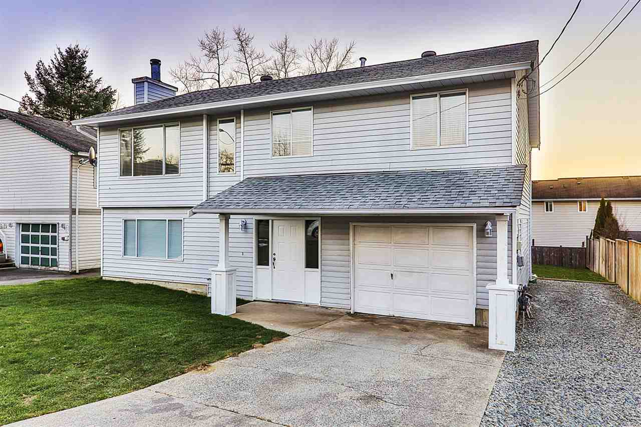 """NEED HELP WITH FINANCING? SELLER WILLING TO CARRY SECOND MORTGAGE (O.A.C.), CONTACT YOUR REALTOR FOR DETAILS!  """"B"""" for BARGAIN """"C"""" for SURE! Completely remodelled 2100 sq.ft. 4 bedroom, 3 bathroom family home on a flat 6000 sq.ft. lot with 1 bedroom MORTGAGE HELPER, and also side lot access allows for addition of a Garden Suite or Detached Shop (Subject to municipal approval). Everything is new: New Kitchen cabinets, counters, backsplash, appliances, new light fixtures throughout, 3 Brand new bathrooms, New flooring throughout, new baseboard and crown mouldings, new blinds, new gutters, newly painted in and out, newly turfed and fenced yard, huge deck."""