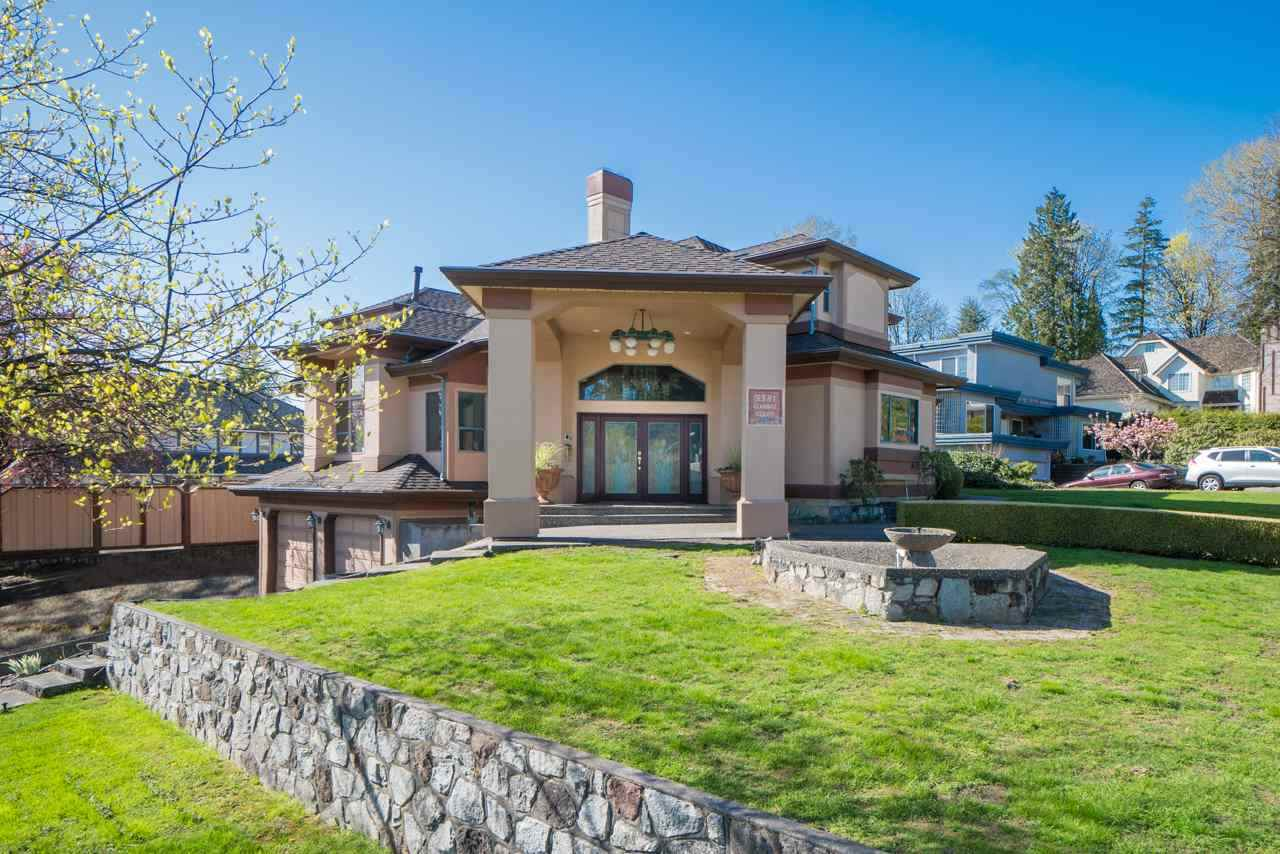 Live in the prestigious Government Road neighborhood in this completely custom built entertainers dream home in a quiet cul-de-sac. Friends & family will be dazzled the moment they walk through the door & take notice of the gorgeous, grand vaulted ceiling. This corner lot home sitting on a 10,000sf lot features 4500sf of living space with 6 bedrooms & 4 bathrooms plus basement recroom & infrared sauna. Your outdoor entertainment includes a sun drenched swimming pool & hot tub. Walking distance to Seaforth elementary school, skytrain, Costco and close to Burnaby mountain secondary school, SFU & Lougheed Mall. Showings after 1pm please.