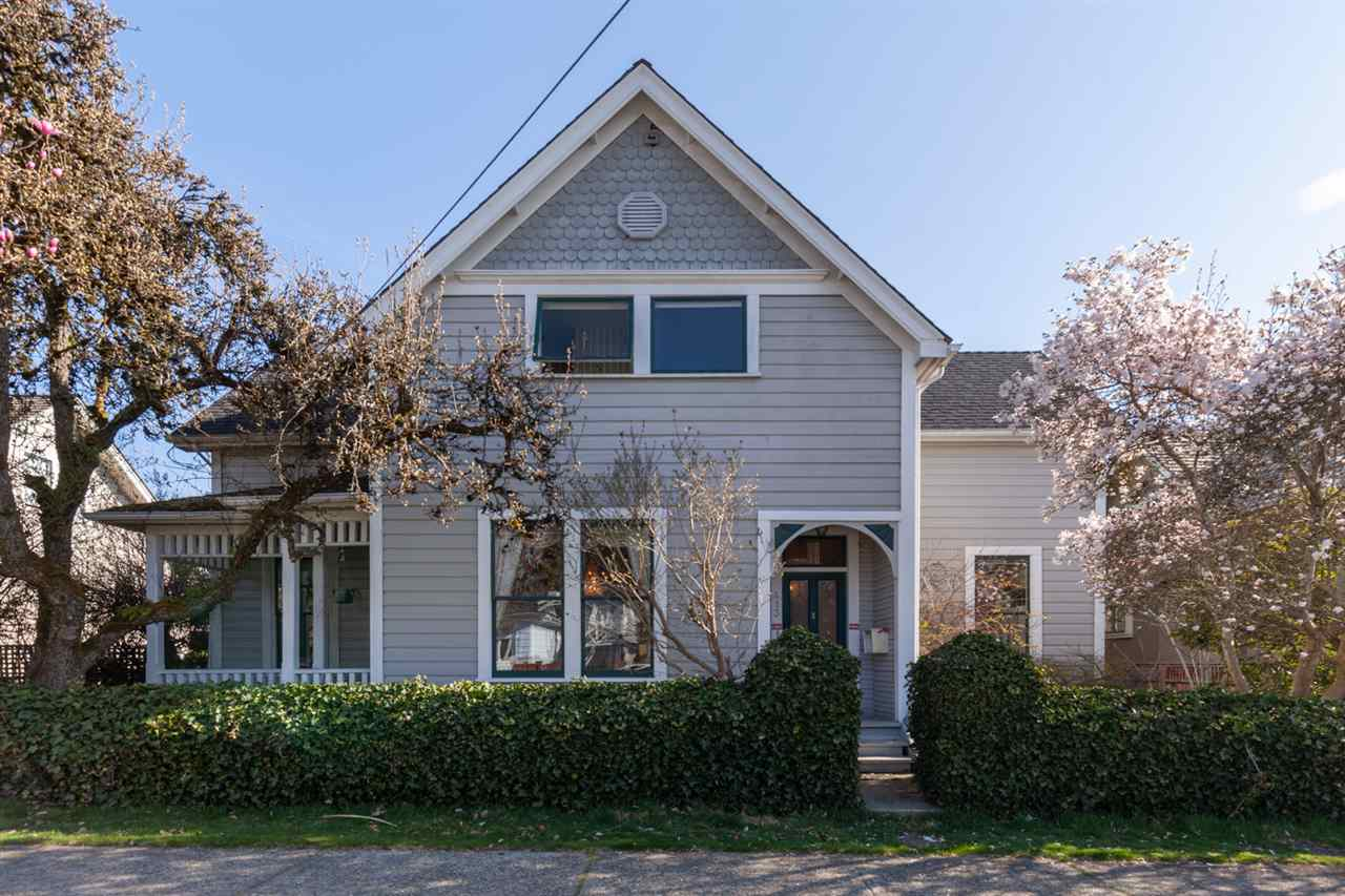 This home is situated in Queens Park neighbourhood, one of the nicest in New Westminster. The street and neighbourhood were frequently captured by TV shows and films. Feel free to walk through this beautiful home.