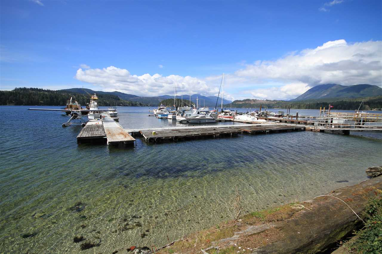 Investment opportunity on the Sechelt Inlet. Low bank waterfront, 1.5 acres with three titles. Includes a 2 bedroom home, separate 1 bedroom cabin, a 50 berth marina, a boat launch and a marine fabrication, welding and boat sales building which is 5000 sq. ft. A short drive to Sechelt and only 20 minutes to the ferry. Sewer is at lot line and phase 1 environmental study completed and phase 2 started.