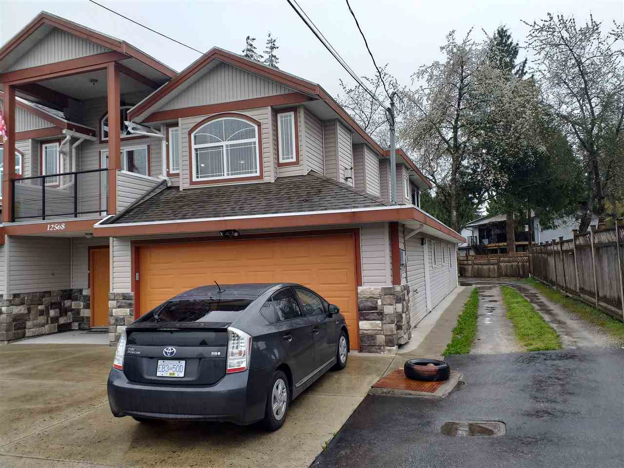 Centrally located house on over 8000 SQFT with RF zone. Close to Central City Mall and Guildford Mall and Wal-Mart. Very close to schools, walking distance to bus stop and shops.  House is fully renovated in 2018 with new appliances on top. A must see with mortgage helper of over $2700. Has a balcony in the front and also covered deck at the back. Covered 2 car garage and can fit lots of cars in the back yard. Like new.