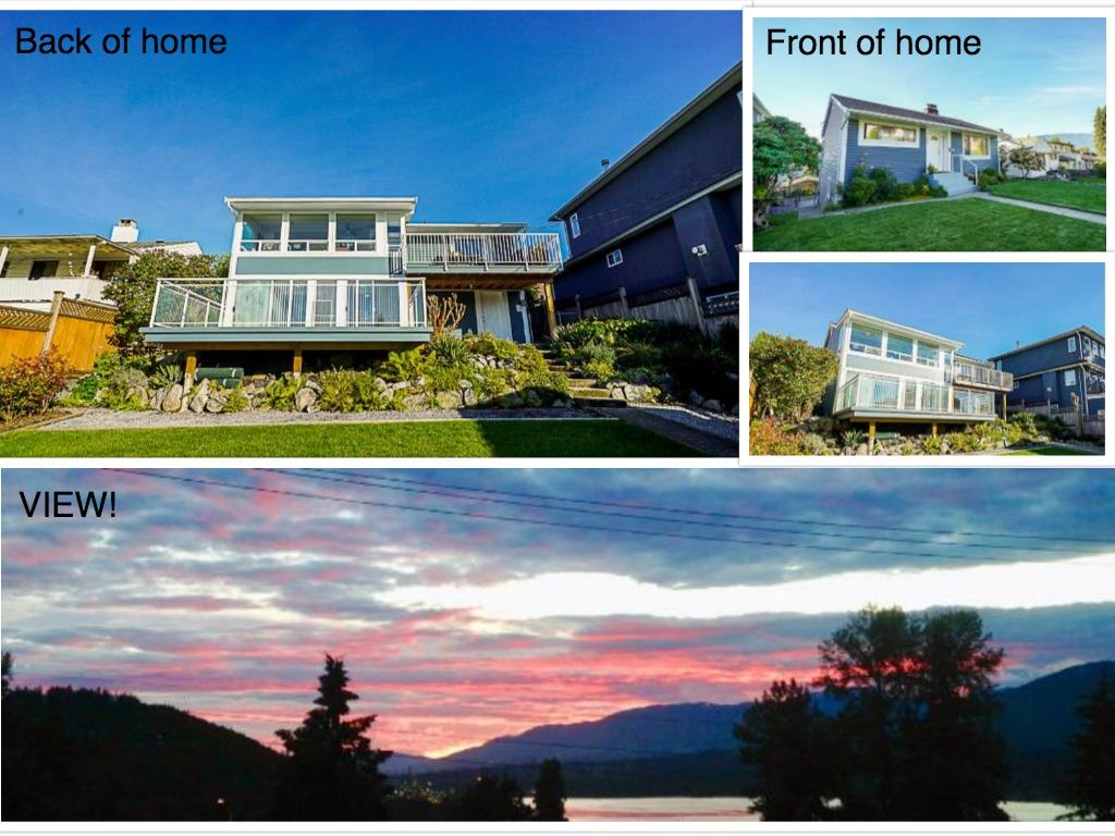 UNOBSTRUCTED 180 DEGREE MILLION DOLLAR GORGEOUS WATER & MOUNTAIN VIEWS!!! Completely updated between 2009-2013. Located in one of Burnaby's most desirable neighbourhoods! Perfect for a growing family! Hardwood flooring, quartz counters, high end stainless appliances, newer windows, solarium leads onto huge deck, soothing freshly painted colour scheme, roof 2009 and siding 2017?. the list goes on! Perfect 2 bedroom mortgage helper w/shared laundry, solarium and it's own deck with glass walls. Bonus: 819 sf attic storage 4?6? in height, great storage! Newly refurbished 14 x 10 exterior storage shed and single garage! Close to amenities! Ecole Westridge Elementary, Ecole Capitol Hill Elementary, Burnaby North Secondary, Ecole Alpha Secondary, SFU, transit, highways, parks,