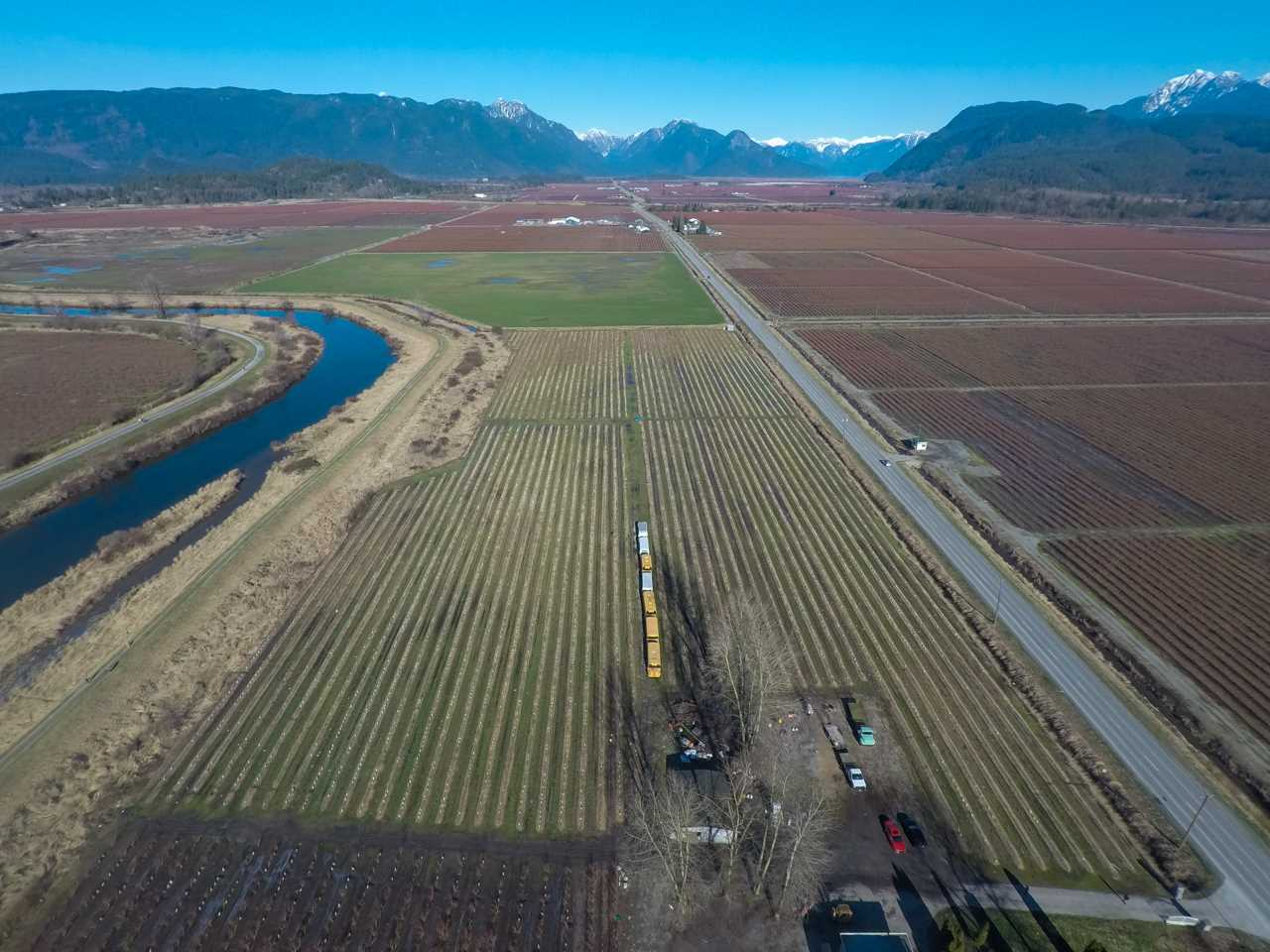 Rare opportunity to own a 30 acre blueberry farm in prime Pitt Meadows with recently updated farm home surrounded by stunning panoramic mountain views! Updated farm home is over 3600 sq ft. The blueberries on the subject property produce approximately 320,000 lbs annually and include the top 3 varieties; Duke, Bluecrop & Elliott. The Berries are well cared for and growing in fertile soil. The property offers quick and convenient access to Lougheed Hwy, Golden Ears Way, & Pitt Meadows Regional Airport.