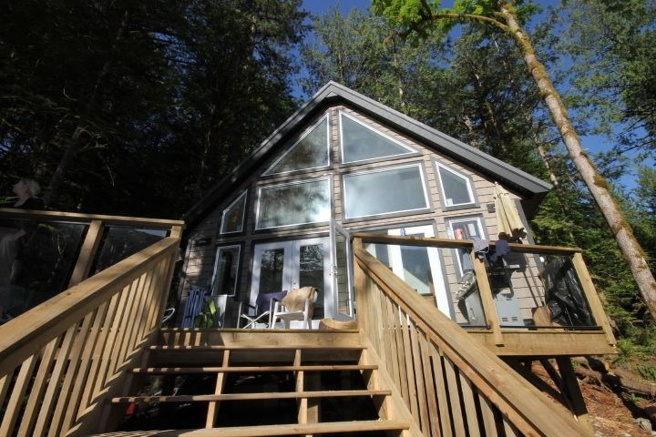 This is the one, don't wait to see. Super private and move in ready, this brand new cabin in Cascade Bay. Large Kitchen with propane fridge and stove, 4 pc bath with hot water and composting toilet. All LED lighting with battery system and solar charging. This cabin is located on beautiful Harrison Lake, and is located just 13 km up the forest access road. This is a lease lot with the BC Government lease in place. Just come and enjoy your own little paradise.