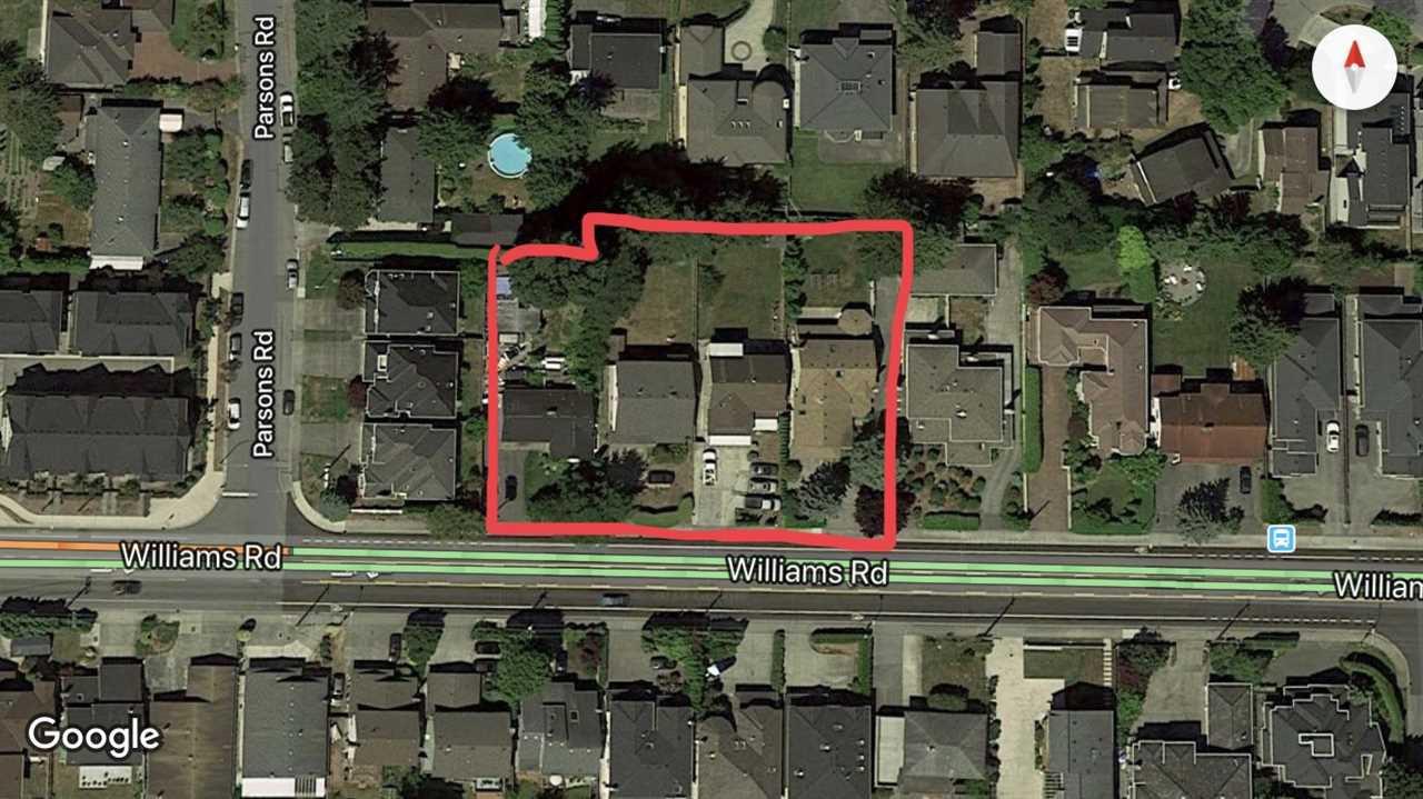 LAND  ASSEMBLY! Fantastic opportunity to invest in this potential townhouse site in the prestigious Woodward area in Richmond. 6131, 6171, 6191, 6211 4 lots are sold as a land assembly. Walking distance to high ranking Steveston-London Secondary School, Richmond Christian School, Broadmore Mall. Property could bring income while waiting for rezoning. Don't miss the excellent investment and development opportunity.