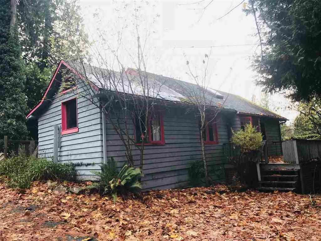 9,000 sqft lot, West Vancouver, 75 ft x 120 ft. Approved ready to build 4900 sqft project. Build your dream home now or Renovate the 2br existing character home to live in and build later on. No Oil Tank,  Assessment value, Walking distance to School, Parks, Rec Centre, Shopping area and Golf Course. Don't miss out. Call the listing Agent for details and also for renovation ideas.