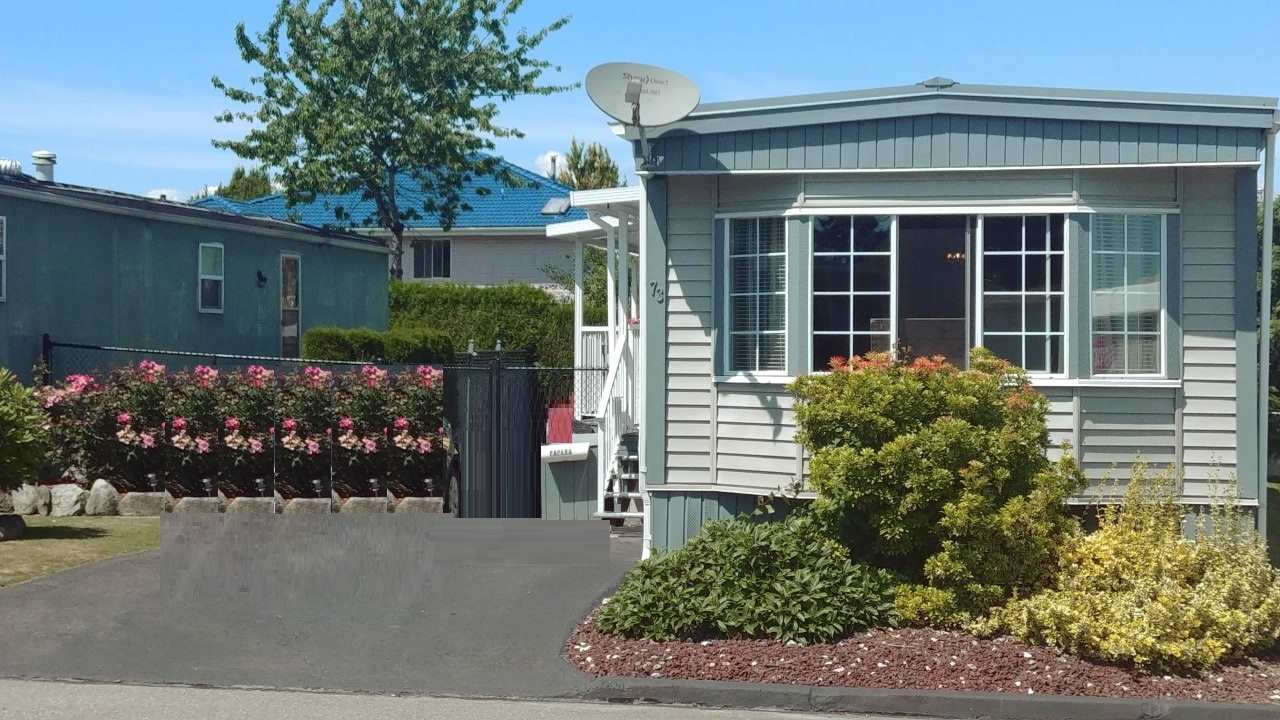 AFFORDABLE LIVING AT ITS BEST. GATED WESTWOOD ESTATES OFFERS THIS ADULT ORIENTED 55 PLUS QUIET BUILDING THAT ALLOWS FOR LARGER BREED DOGS. THIS HOME HAS BEEN FULLY RENOVATED WITH NEW DECK, RAILINGS AND AWNING. NEWER WINDOWS NEW METAL ROOF AND VINYL EXTERIOR ONLY 6 YEARS OLD. KITCHEN HAS NEW COUNTER TOPS AND REFINISHED CABINETS. BONUS EXTRA LARGE PRIVATE BACK YARD WITH PATIO AND NEW WORKSHOP. PAD RENTAL ONLY $740. PER MONTH SHOWS LIKE NEW BOOK YOUR APPOINTMENT TODAY. OPEN HOUSE SAT. JULY 6TH 2-4PM.