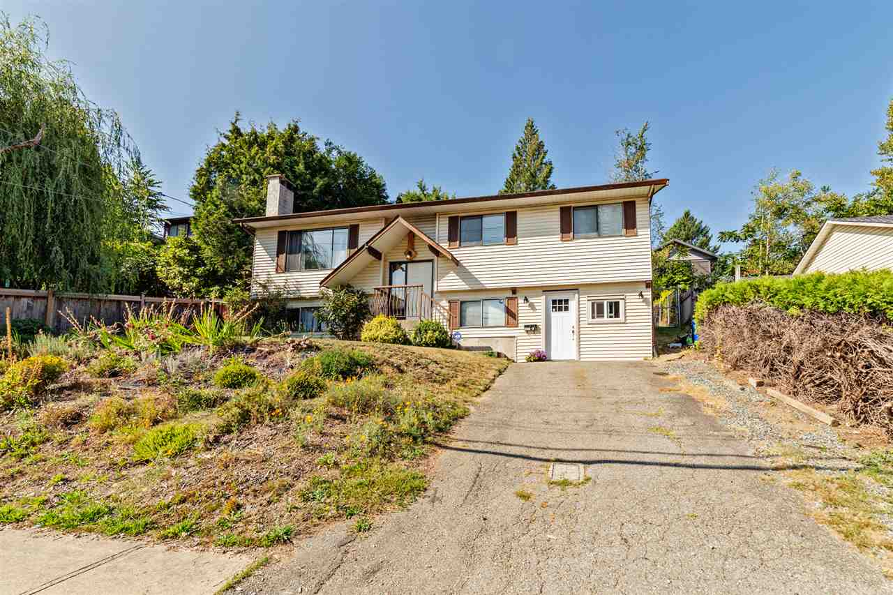 Basement home on large 7200 square foot lot. Centrally located close to transit and only a 5 minute drive to West Coast Express. Upstairs there are 3 bedrooms and 1 bathroom. Downstairs there is an unauthorized bachelor suite.