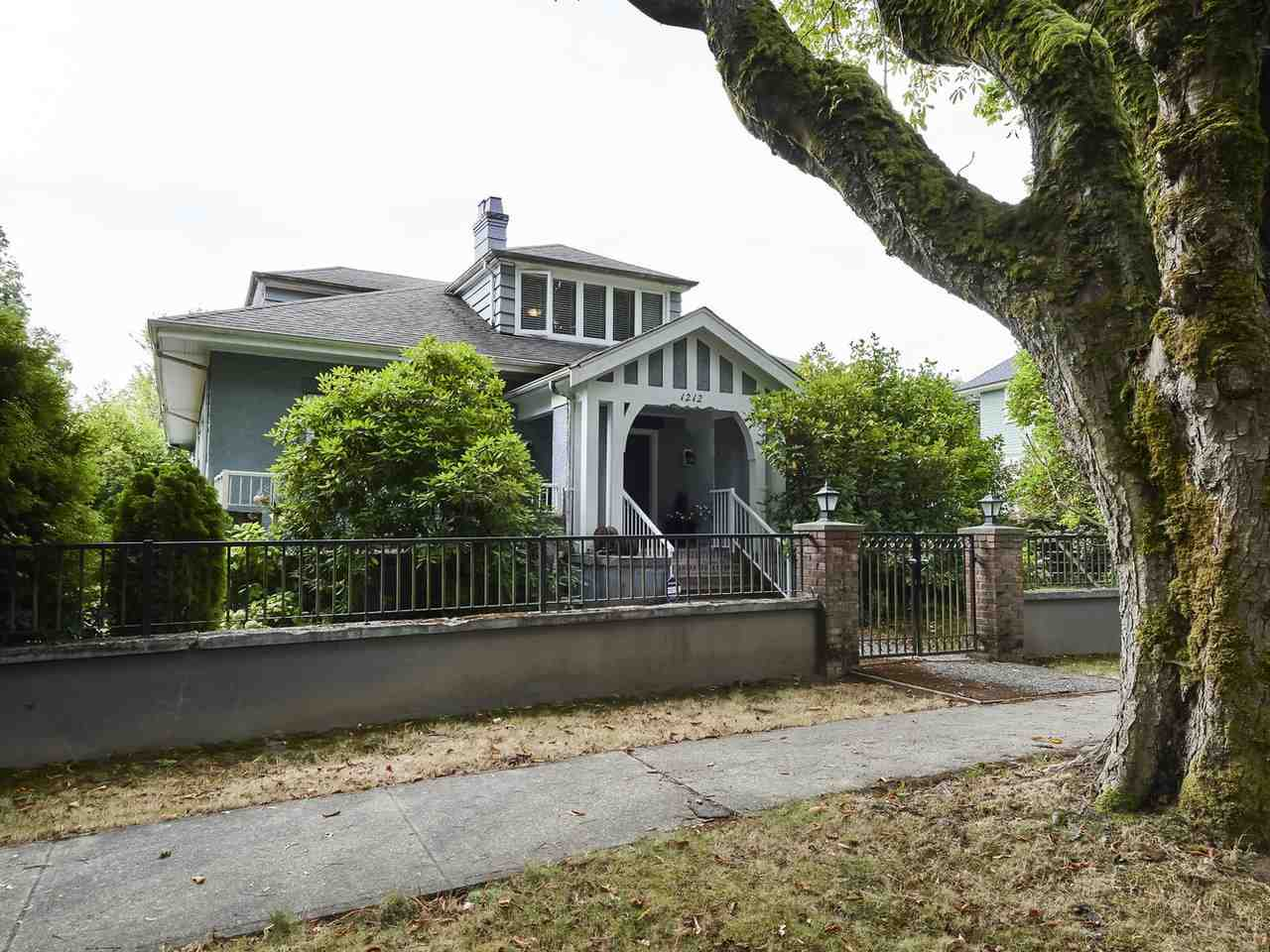 1212 Balfour, V6H 1X5, RARE FIND, BEAUTIFUL LEVEL CORNER LOT 113 X 116.8 SITS IN MOST PRESTIGIOUS FIRST SHAUGHNESSY LOCATION. EXCELLENT HOLDING PROPERTY. Updated & well kept. Over 6,500 sq.ft. of living area offers 5 bedrooms, 4 baths, 9' ceiling, extensive use of hardwood floor thru-out the main. Entertaining sized living & dining rooms, 2 generous sized MASTER BEDROOMS with ensuite and a two car attached garage. Bonus; large patio at rear and private west facing fully fenced side yard. CLOSE TO WELL KNOWN SCHOOL CATCHMENT; YORK HOUSE, ST. GEORGE'S, UBC, SHOPPING, TRANSIT.