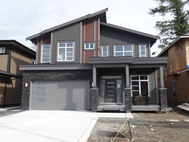Immediate Possession for this Brand new 5 Bedroom + Den house. Comes with full Warranty by Pacific Warranty company. Built by reputable and established builder with top notch quality and workmanship. Excellent location and walking distance to all the services. Backs on Green belt and  sits on quiet street . Very large master bedroom with 4 piece ensuite and walk in closet with built in organizer. Private and covered sun deck with aluminum railing. 2 bedroom legal suite with shared Laundry. total 4 baths. Must be seen inside the quality.