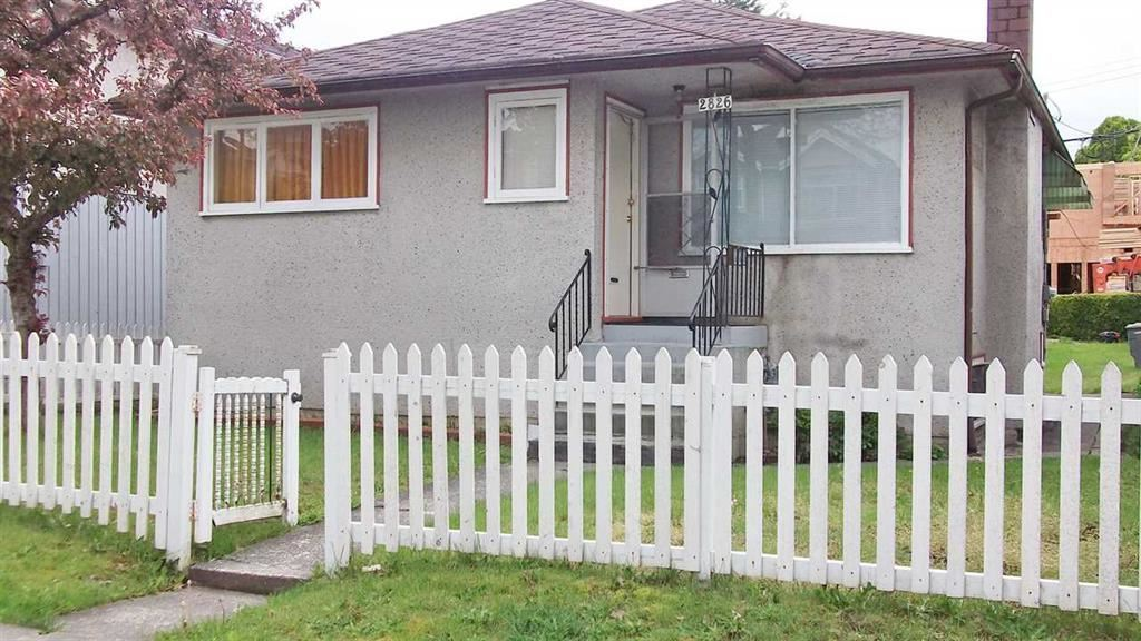 Location = Kingsway & Earles. Good holding property. RM-7 Zoning (potential for Multi-Family). Close to 28th Avenue Skytrain & Kingsway shopping. Solid bungalow with hardwood flooring in living room, 2 spacious bdrms upstairs & 2 bdrm in the basement with storage and laundry. New furnace 2018. Steps to school, Slocan Park & renfrew Community Centre. All sizes and ages are approx. only. The Buyer should not rely upon the listing information without the Buyer independently verifying the information. Act Fast!