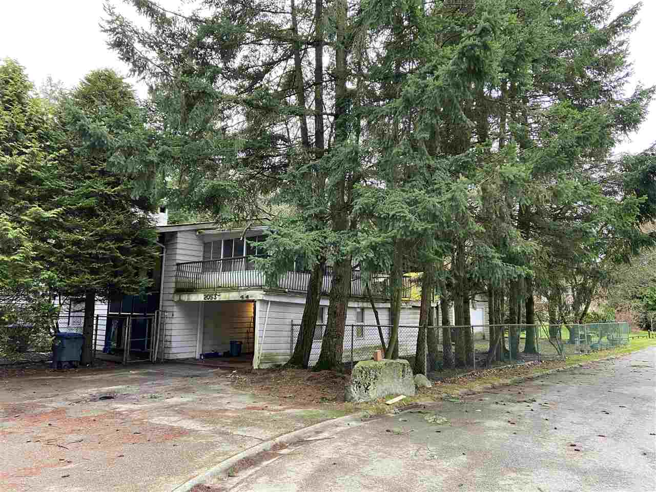 """Attention Builders, Investors & Developers! Massive corner lot measuring over 14,000 Square Feet backing onto a green space and located in highly desirable Elgin Chantrell. Zoned RH-G meaning one single family home which may contain a secondary suite. This lot is set back from 140th and accessible through the highly sought after Chantrell Park Estates area. Ray Shepherd Elementary & Elgin Secondary School Catchment. House """"sold as is where is"""" but this corner lot is ready for you to build your dream home and move into this great neighbourhood!"""