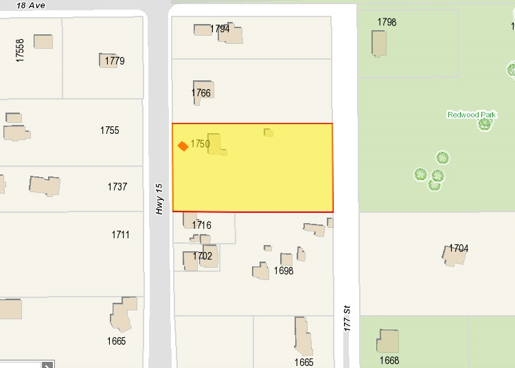 Grandview ? Optimally located, level and rectangular 2 Acre (90,122 SF) parcel recently included as part of the Grandview Heights NCP 3 extension area. Future development potential with newly proposed townhouse zoning across the street. Livable house with updated roof and hot water tank. The house is currently tenanted with fix term until March 2021. Close to schools, Grandview pool and shopping. Easy access to Hwy 99 and US border. Don?t miss this well-positioned investment opportunity. Buyer to conduct own due diligence to confirm development potential.