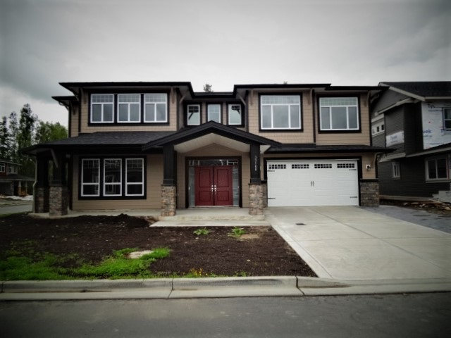 Excellent location for this brand new 5 bedroom + Den house in area of new homes. Large house with lots of room for growing family. Fully Finished basement with 2 bedroom legal suite. Sits on the corner lot.Close to all services and 5mins to Mission town . Over 3600 sqft total inc Garage.4 full baths. Den in basement has separate entry can be used for home business etc. Very attractive and open concept. Large Master bedroom wit 5 piece ensuite. Large entry with double wide doors. Immediate possession possible. Fry Kitchen up stair. More info plz call