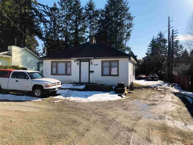 INVESTORS DREAM! Recently renovated 3 bedroom, 1 bathroom rancher on a Large, Flat lot in West Maple Ridge location. Currently rented to great tenants at $2000/mo plus utilities. This lot may be a good opportunity to build a Detached Garden Suite (Copy of Information available through your realtor), which would make this a great property for 2 families. Build garden suite now and collect rent creating an affordable housing solution! Recent upgrades include: Newer Hot Water Tank, Furnace, Window Blinds, Kitchen Cabinets, and addition of 3rd Bedroom. Lots of parking, and ready access to transit.
