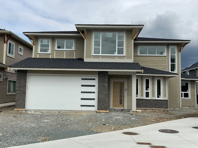 Brand new 2 storey house with 4 bedrooms on top floor with 2 bathrooms. Main floor is designed with Large great room with nicely designed gas fireplace off Large kitchen loaded with cabinets and Quartz counter tops. Laundry on Main with room to stock papers and detergents. Over 2700 sqft total inc garage. GST and some appliances include in the price.