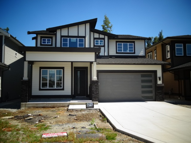 Very solid and well Built Brand new house by established builder with full warranty. Very Tastefully Finished and Designed. Must be seen inside to appreciate the Quality . Excellent location in area of new homes with walking distance to all services and Town. House features Total 5 Bedroom + Den , 4 baths, 9ft ceiling , Over 3500sqft including Garage,  Gas  fireplace , 2 bedroom Legal Suite with own Laundry. Private Back Yard. Property will be Landscaped with turf and Few Plants. GST Include if owner occupied . More info Please call.