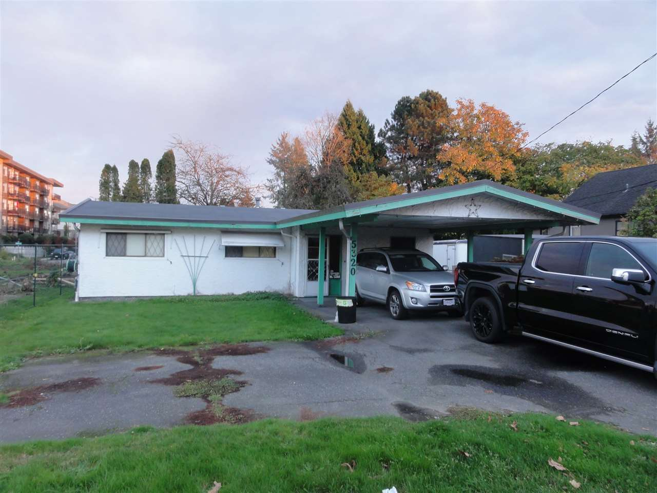Investors take note, hold this prime property for redevelopment. This solid Rancher on a 6000sq. ft lot offers 3 bedrooms, 10 year old Polmer roof, heat pump for comfort all year long. Live in or rent out will waiting for development.