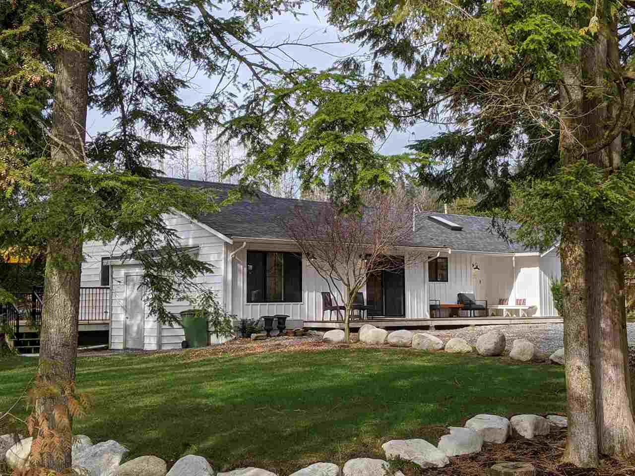 Enjoy living in this sweet country retreat on 1/3 acre, bright & spacious 3 bed, 2 bath rancher just minutes from town.Previous owners updated the interior,roof,siding & septic system in 2018, BUT the current owner took it to the NEXT LEVEL in 2019: 297' DRILLED WELL with UV filter/treatment system;tank-less HW on demand;Nat gas FP; Amana 40,000 BTU furnace & 20KW generator w/auto transfer switch for winter storms;double french doors onto the HUGE partially covered wrap-around deck for entertaining;2 Nat gas BBQ hookups;veranda at the front & covered priv.deck off the m/suite.Lots of room for gardening and a view of a tree farm w/grazing deer from your deck - Showings will only be on Saturdays, by appointment only, due to Seller's work schedule.