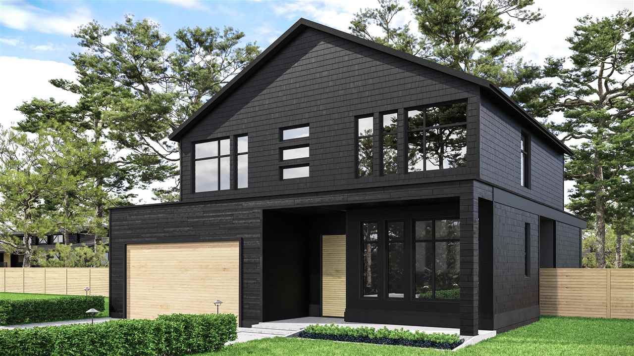 Architecturally grounded home with modernist approach of clean lines that sacrifices opulence for chic. Soon to be built Scandinavian inspired abode presents a duality for seasons. Cozy home in the winter with European accents of floating fireplaces, while transitioning into a fantastic beach home for summer months. Bold design- aesthetically exciting black on black exterior while using hints of Fir. Open floor plan brings about the era of The Great Room, seamlessly incorporates your backyard into a fun and usable living space via modern sliders. Fitted with the right kit your new Chef's kitchen will feature a high end appliance package and uninterrupted, soft close cabinets. This home will live big and boast 2,188 sq ft and feature four bedrooms upstairs all having ensuites. Take a chance on adventure by moving to an amazing beach side community that will provide endless hours of recreation and lasting memories. Current rancher can be purchased with plans, please call for pricing.