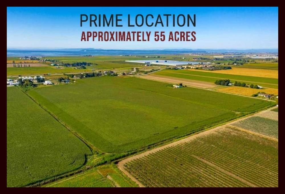LOCATION!LOCATION!!An incredibly desirable location: Delta. A grand frontage of 1118 ft means no problems maneuvering all your large farm vehicles into this prime farmland of 54.84 acres, has 3 legal addresses, with 3 existing dwellings currently on 2 addresses. Come and enjoy the income potential from a duplex and registered mobile home, or live in one of the dwellings and rent out the other 2 dwellings, while you build your dream home. Easy access to Hwy 99, Delta Port, Ferries, and Vancouver. Shopping/amenities are only 10 minutes away with your choice of Ladner or Delta shops at your disposal. Property is in central location with surrounding restrains, gas stations, and transportation routes. A great place with a great view of the mountains and an ideal spot to see the sunsets/rises!