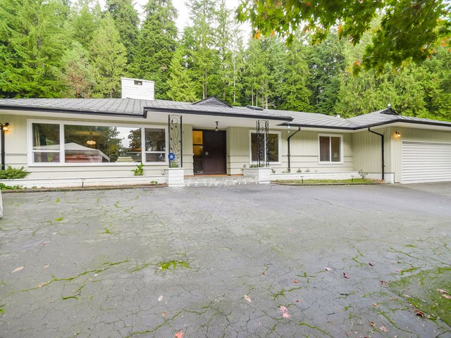 A rarely available 0.694 acre property that's nestled in a quiet private cul-de-sac. With a gently inclined driveway at the top you'll find a 2,074 sq-ft of generous living space in a wide bungalow on a flat lot. This home offers 3 bedrooms, 2 and half baths, spacious recreational room, new kitchen, furnace, windows and flooring. A spacious front yard perfect for landscaping and gardening ideas. Plus an enormous backyard with abundance of space for entertaining guests all year around, or kids playground and more. Conveniently close to Hollyburn Country Club, Collingwood and Sentinel Secondary. Hold and build your estate home here.   Open House Nov 29, Sat 2 - 4 pm