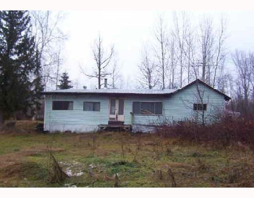 "Level & useable 10 acres hobby farm. Comes with a second 2 bdrm guest cottage (2nd house). 2nd house can be rented out to be a mortgage helper. Lightly treed property. Newer vinyl siding with metal roof. House is ""as is, where is""."