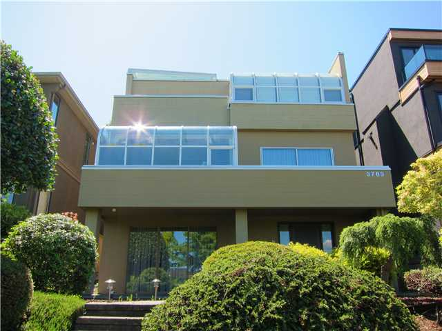EXCLUSIVE LUXURY ON PUGET DRIVE!!! UNOBSTRUCTED MILLION DOLLAR VIEW FROM EVERY FLOOR. Effective age 20 years. Totally rebuilt from the foundation up in 1991. Extensively renovated inside & out over the last 3 years. Interior by Georgie Award Winning Designer JOEY CHAN. Perfect for relaxing & entertaining. Potential for 4th bedroom. MUST SEE TO TRULY APPRECIATE. Enjoy an additional 243 sq ft of expansive deck on the top floor. Extra 220 sq ft of storage space under the 3 car garage. Located on the quieter & more desirable part of Puget. Close to all the great schools. (Prince of Wales)  A RARE FIND.