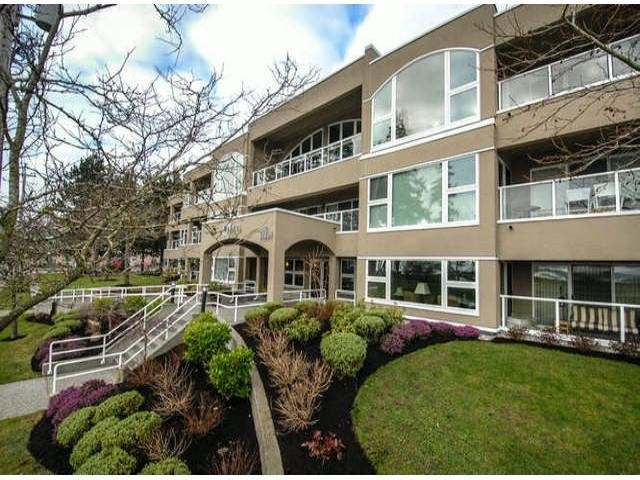 Vista Del-Mar beautiful south west corner unit flooded with natural light from windows on 3 sides & bonus peek-a-boo view. Near 1100 sf. 2 bedrooms, 2 bathrms, 2 decks & over 300 sf. of covered out door living space. Well maintained tastefu l updates including heated bathrm floor, harwood, tile & newer carpet. New rain screen system, torch on roof, windows, doors, decking & interior all done 2010-2011, 10 year warranty, looks like a new building. 2 minute walk to White Rock beach, restaurants, shops. 2 parking spots, storage locker, strata fees include cable & natural gas.