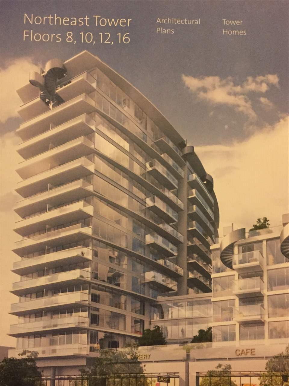 Kensington Garden by Westbank. This 2 bedroom 2 bathroom unit offers spacious living area. High end appliances, H/W floors and much more. Assignment of contract. Buy into this hot community before it is too late.
