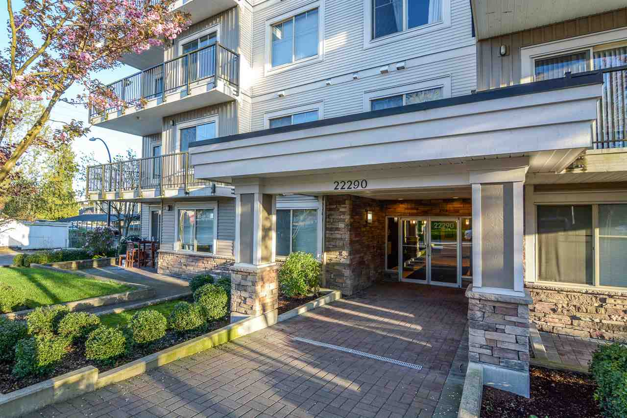 Beautiful third floor corner unit 2 bedroom/2 bathroom with two patios. Central location, walking distance to the West Coast Express, shopping and recreation. Gourmet Kitchen with a huge island, granite counters, stainless steel appliances. Perfect for investors, no rental restrictions.