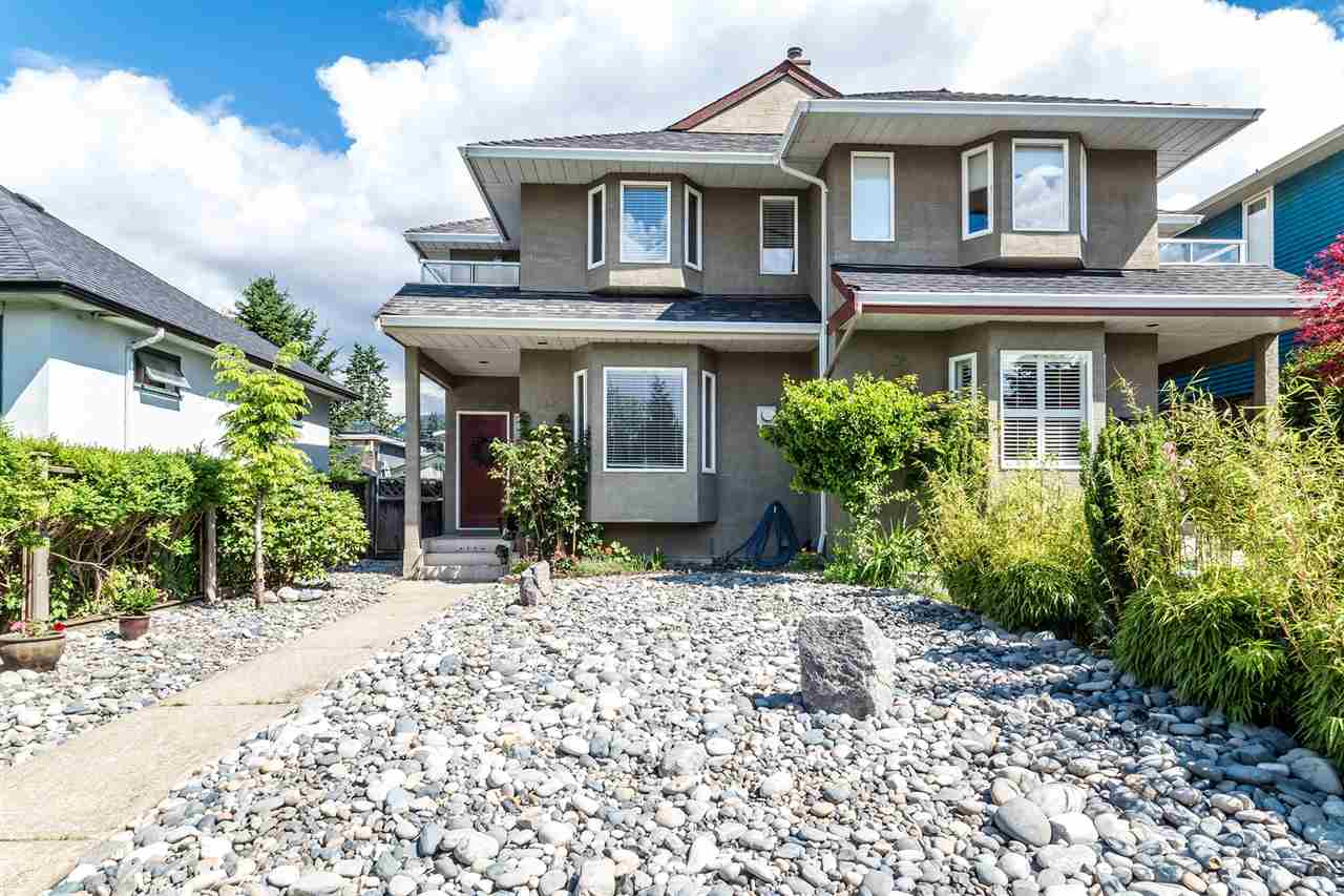 Fantastic location! Central Lonsdale area, this gorgeous 2x level, 2 storey duplex (semi-detached house). Situated on quiet 14th street, close to all amenities including groceries, restaurants, library & rec centre plus walking distance to Queen Mary & Carson Graham schools. A generous 1750 sq ft with 3 bedrooms, 2 with balconies offering great views of downtown Vancouver. The kitchen & 3 bathrooms were completely renovated in 2016. First time on the market in over 15 years this is a great opportunity!