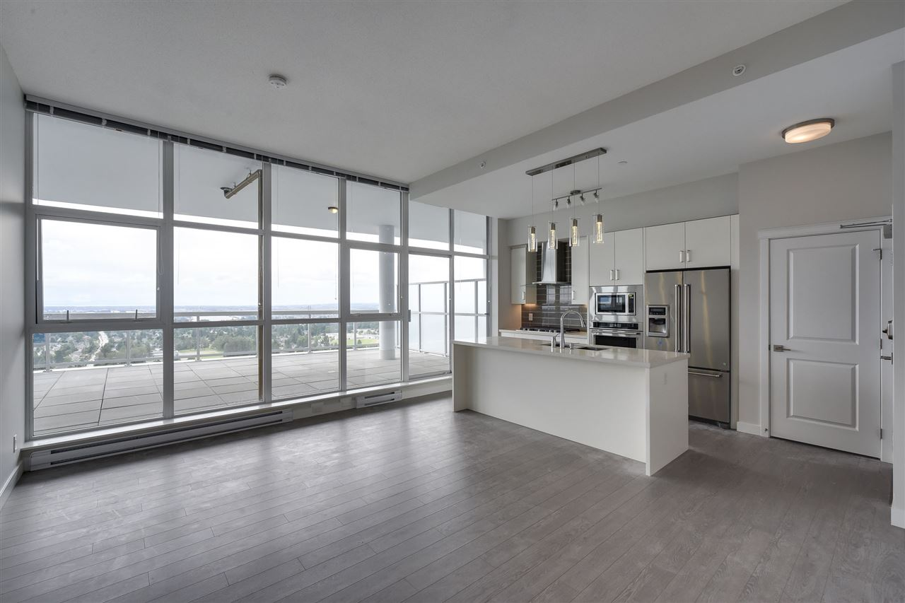 What a view from this incredible sub penthouse unit at Delta Rise! Enjoy the evening sunset from your nearly 700 sq.ft. balcony! This stylish and open layout allows for the ultimate in entertaining guests or just simply soaking it all in. Some of the unique features include: 10 1/2 foot high ceilings, a kitchen with top-of-the line stainless Kitchen-Aid appliances, gas stove, quartz counters and 2 parking stalls. Over 1/2 Acre of amenity space featuring Putting Green, Outdoor Fitness Centre, BBQ, Fire Pit, Playground, Community Gardens, and so much more!! Centrally located, just steps away from shopping, restaurants, and transportation. Book your private viewing for this exclusive offering today!
