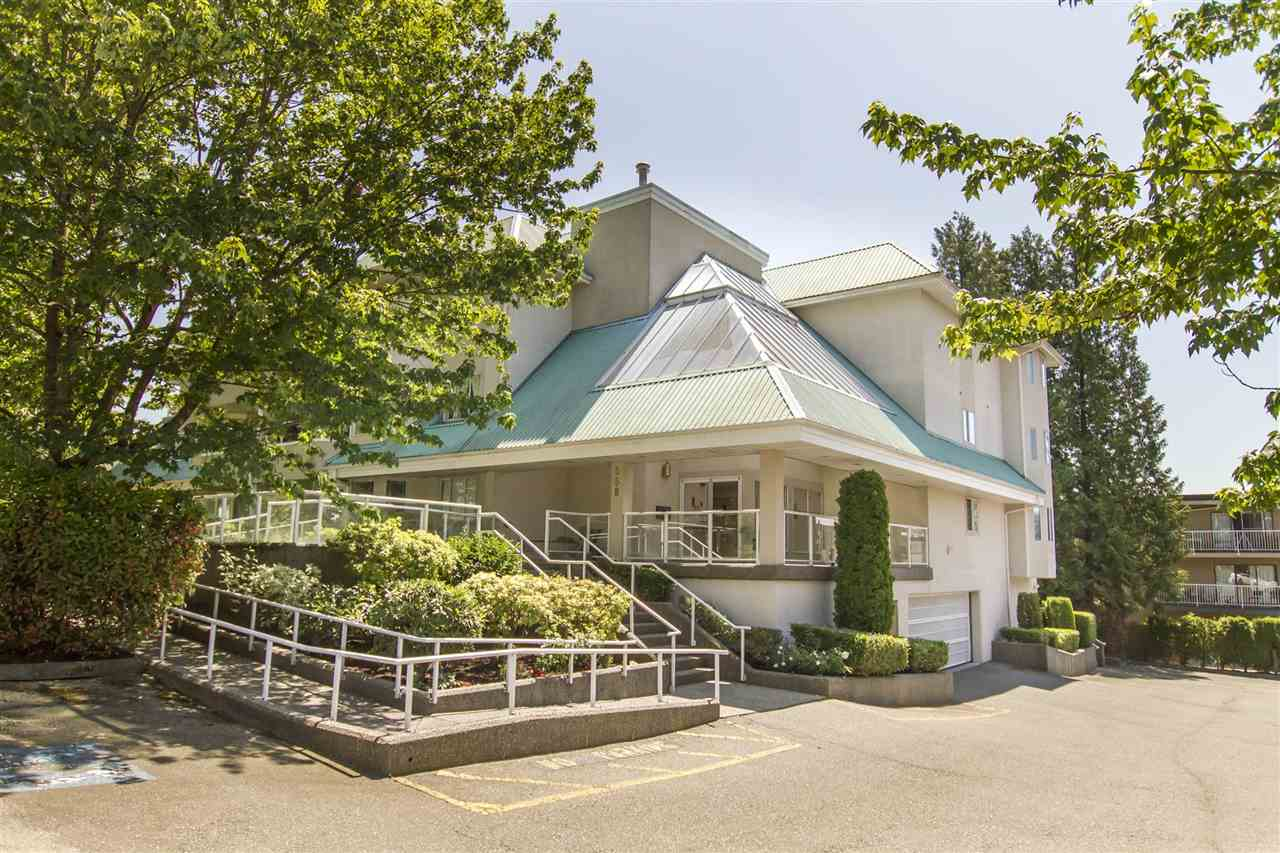 Very nice well kept ground level corner unit.  Open concept spacious kitchen and larger bedrooms so you don't feel cramped.  Gas fireplace is nice and a large deck with a nice view of the garden.  The location is prime being a short walk away from Lougheed skytrain station, restaurants, shopping, and many professional services.  Call today for a showing!