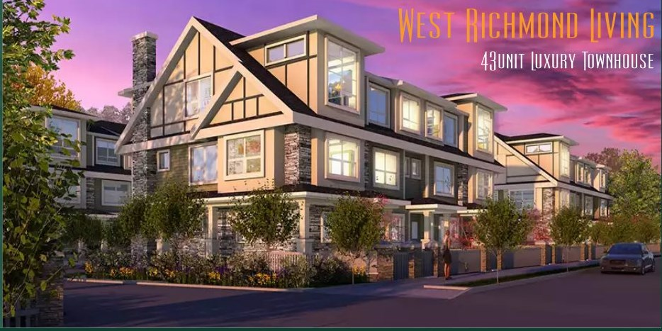 LA VERNA - Richmond's most anticipated collection of 43 townhomes located near Granville & Railway, just steps away from Thompson Community Centre & J.R. Burnett. Secondary. Select from 3 level designs ranging from 1,128 square feet to 2,098 square feet with 3 or 4 bedrooms plus den plans and private 2 car garages. Thoughtfully designed homes featuring 10 Ft high ceilings on the main floor, Air-Conditioning, high-end appliances, 2-5-10 New Home Warranty. Est. completion Early 2019.