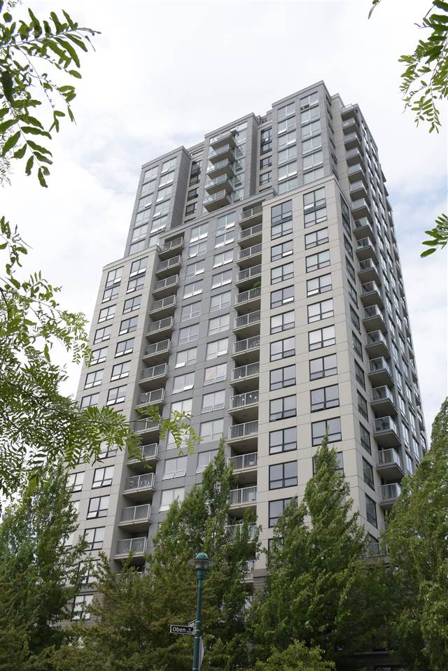 Latitude built by Bosa, in the heart of Collingwood Village. Inside ground floor unit, direct entrance from lane or inside the building. 2 bedrooms plus den (could be 3rd bedroom or home office). Good size underground parking (P2-109), locker 6' x 4' (Rm 1-3). Walking distance to Joyce Skytrain, recreation centre, tennis & basketball court, playground, grocery, banks, restaurants, Safeway & London Drugs. Driving to Metrotown, Crystal Mall & Central Park within 5 minutes. No rental restriction. Low maintenance. Graham D. Bruce Elementary, Windermere Secondary. All measurements are approximate, to be verified by the Buyer. Open House : 23 September, 2017, 1:30pm - 4:00 pm