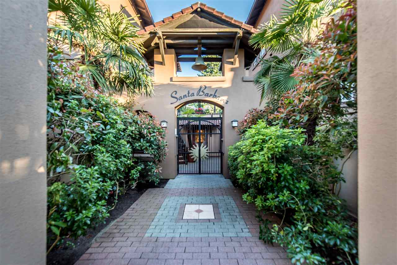 BEAUTIFUL 2-BED + DEN TOWNHOUSE IN HEART OF KITS! The iconic SANTA BARBARA complex built by Polygon has it all! The main level features an open concept living/dining/kitchen area with rich hardwood floors, floor-to-ceiling windows for maximum light and cozy fireplace plus den perfect to create home office space. The spacious patio offers plenty of space to relax and features views of the common courtyard area. The 2nd level presents two bedrooms plus masters ensuite. Take advantage of well maintained building that has TWO parking stalls side-by-side, in-suite laundry and separate entrance. Just steps to beaches, cafes, schools, and transit! Don't miss out on this beautiful unit, it's currently rented out for $2555. ALL OPENS CANCELLED