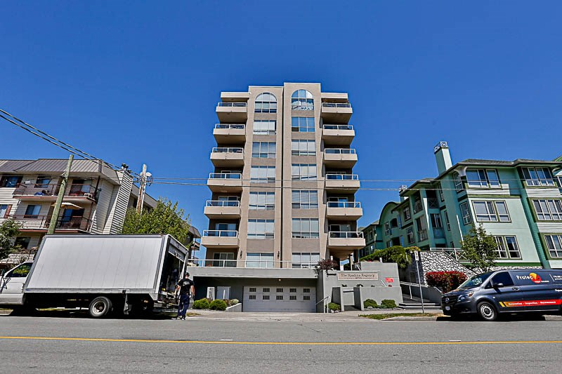 "Concrete building, very well maintained! Come take a look at this huge 2 bedroom, 2 bathroom condo boasting one of the nicest views in town! The master retreat features, huge ensuite  w/jacuzzi tub and private balcony. Just down the hall you will find another good sized bedroom and large living/kitchen combo with yet another south facing huge balcony positioned to capture the mountain views. Low strata fee includes natural gas & water. building offers: Secure underground parking, good sized storage locker, rec room, workshop, cozy guest suite. 45+ & 1 pet under 18"" Watch the Virtual Tour, its amazing and Call today!"