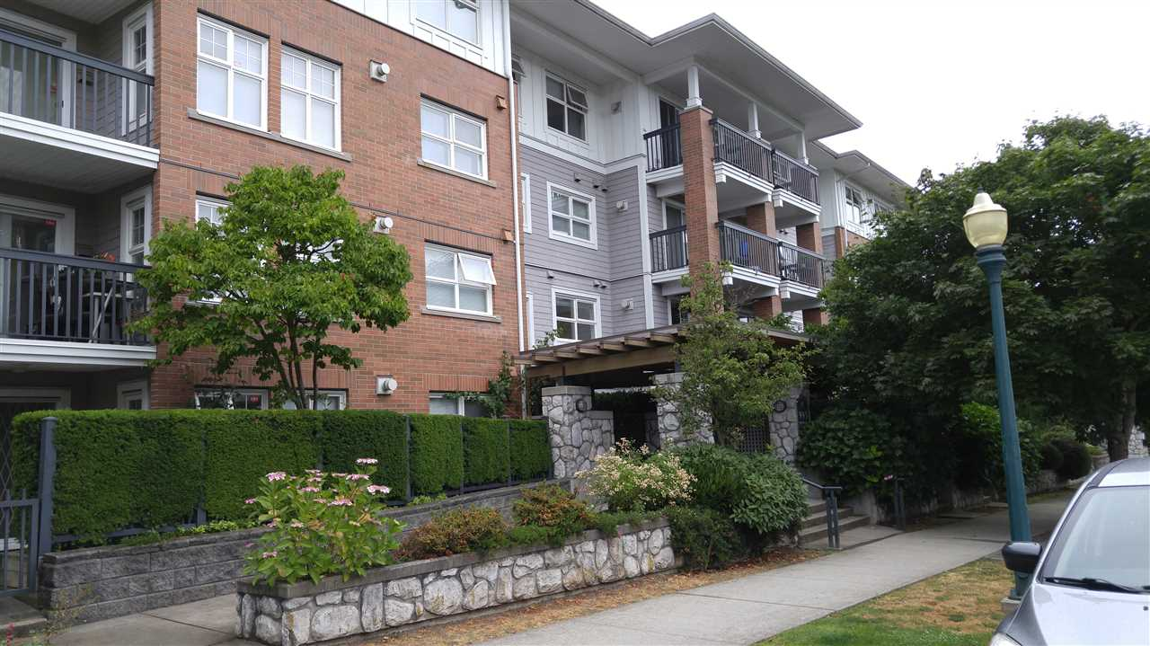 Churchill Gardens built by prestigious Polygon. This bright corner unit on the top floor with 9 foot ceiling is NW FACING. The spacious 990 sq. ft. living area suit has a functional layout with 2 non-adjacent bedrooms and 2 full bathrooms. the gourmet kitchen is separated from other rooms. You can enjoy breakfast at the nook off the balcony that overlooks the city view. It features stainless steel appliances, gas stove, ample cabinets. Not all units have storage locker like this one which the seller paid to own. A parking stall that include one self-owned which cost the seller 10k. The location is easily accessible to Downtown, Oakridge Mall, UBC, Richmond and airport. MINUTES WALKING TO CHURCHILL SECONDARY.