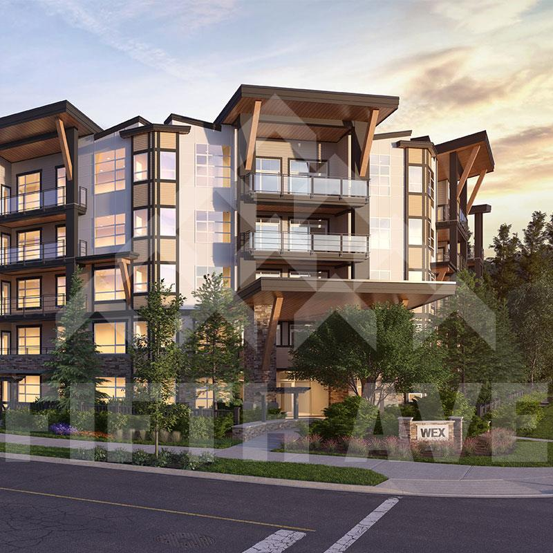 """THE WEX by RDG - A collection of modern sophisticated condominium style homes in the heart of the beautiful Willoughby Community. Located just steps away from Richard Bullpit Elementary and the fast emerging Willoughby Town Centre with shops and restaurants to serve you at walking distance. This ground floor corner unit is facing the courtyard and comes complete with a chef's kitchen, open concept floor plan with 2 bed, 2 bath, a BONUS 2 parking spot and a very nice walk-out patio. Finished in a """"ARABICA"""" scheme providing a light colour pallet throughout keeping the place looking super bright and open. Estimated move-in date for this lovely home is expected to be Spring 2018. Don't miss your opportunity to own in The Wex"""