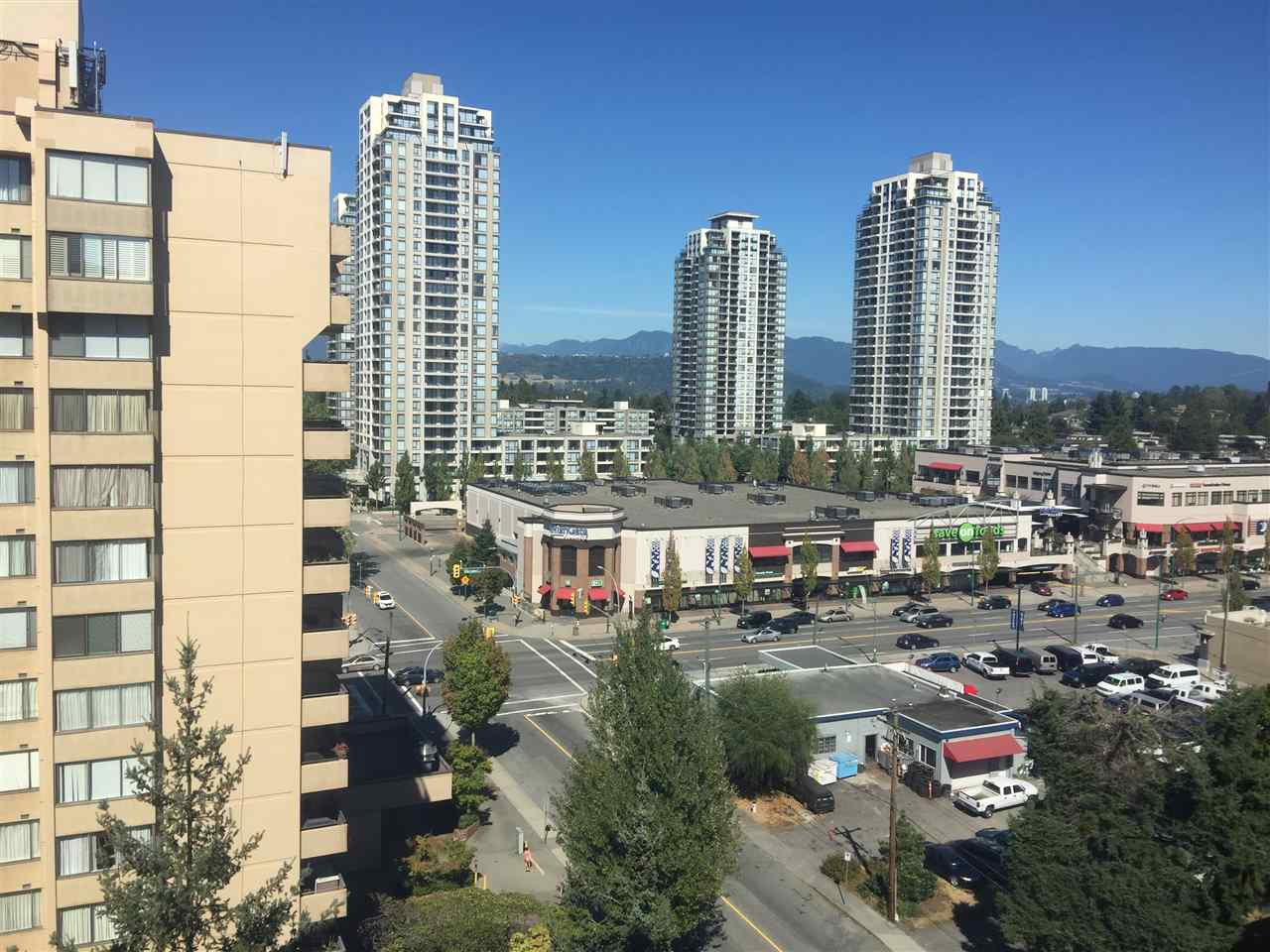 Kingsbury, well maintained complex in South Burnaby HighGate area. Short walking distance to HighGate shopping centre, bus transit and Edmonds skytrain station. This is a corner unit with beautiful view of North Shore mountain and city lights. Very functional floor plan with good size separated bedroom on each side and a large balcony. Laminate flooring throughout the home for easy maintenance. Updated kitchen cabinet and newer appliances. The building has shared laundry and secure FOB entrance system. One underground parking and one storage locker. Low monthly strata fee includes heat and hot water. It's a great starter home.