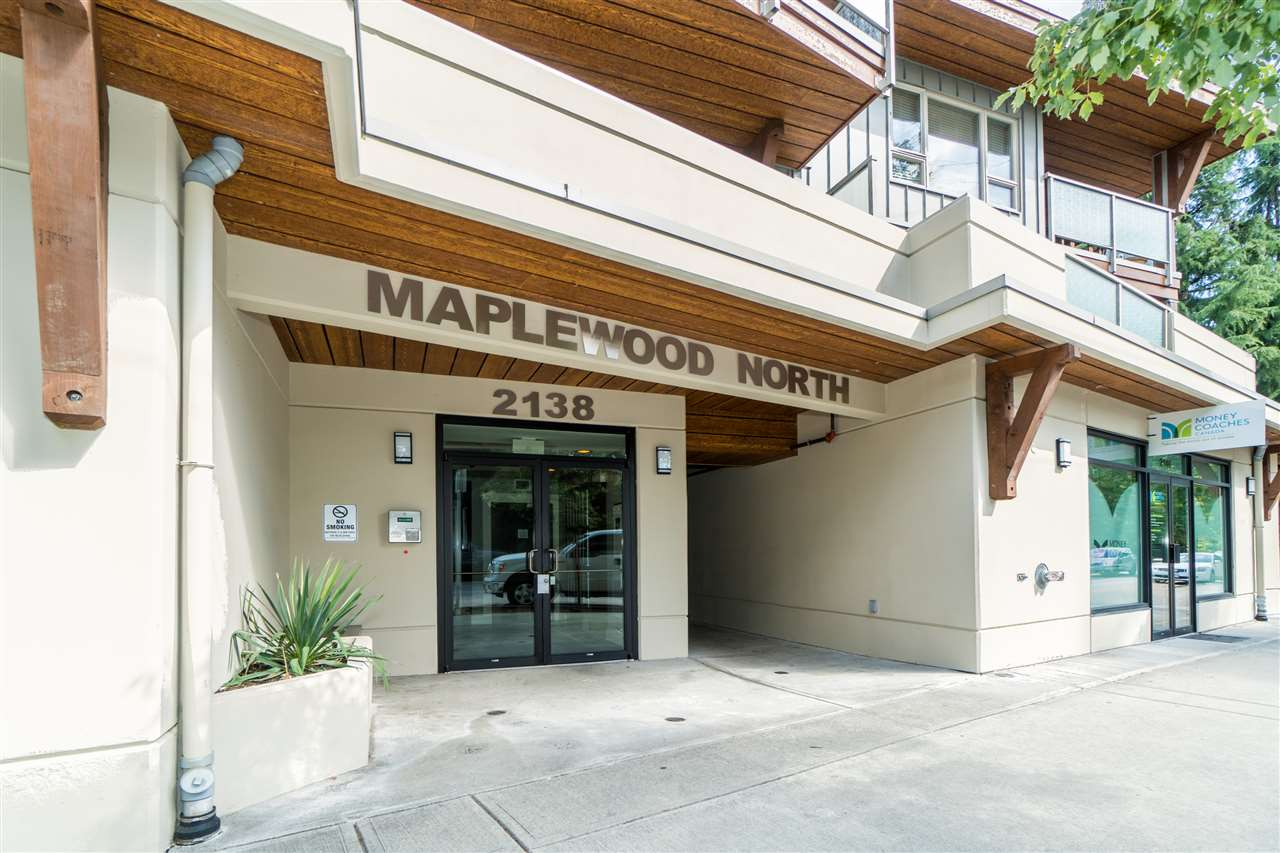 Rare offering in the newly developed Maplewood community in North Van. The unit features near new conditioned flooring, appliances and spacious 2-bedroom, with a huge south-facing balcony with tons of natural lighting. In-suite laundry, quartz counters, island dining, open & large living/family room are just some of the many features. Well-maintained building comes with huge rooftop deck. Neighborhood is quite, safe yet top convenience. Close to Hwy 1 entrance, public transit, shopping, recreation centre, etc. This one will not last.