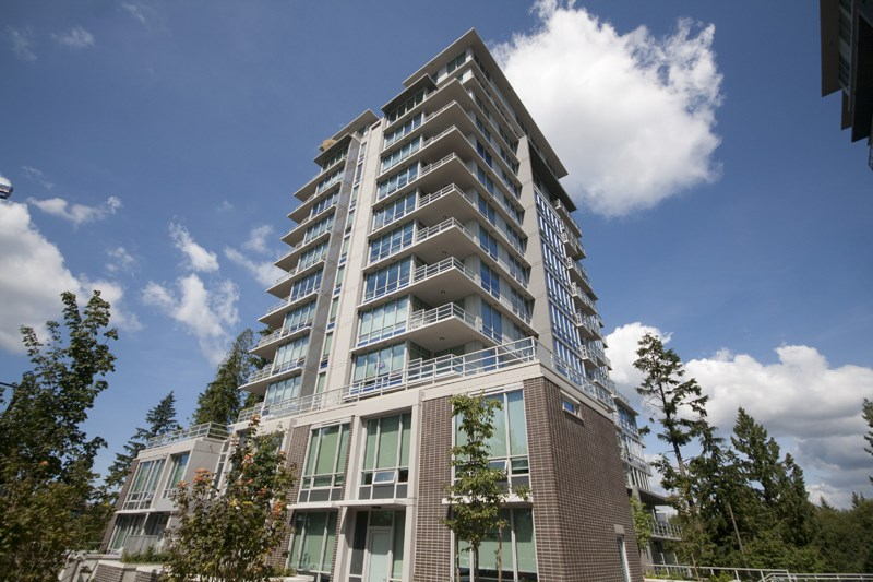 CORNER UNIT, LARGE TERRACE (approx. 536 sq/ft) & 3 BDRMS! Welcome to this beautiful condo unit with a rarely available and spacious terrace in Altitude. Nestled in the master planned and self-contained UniverCity atop Burnaby mountain. Altitude is only mins away from transportation, grocery shopping, exotic eateries, exciting trails for hikers & bikers & world renowned university. This gorgeous S/W facing 3 bdrm/2 bhrm corner unit boasts beautiful 9? ceiling, engineered hardwood flooring throughout the main living space. S/S appliances, quartz countertop, functional open layout & a rarely available HUGE terrace for entertainment and enjoyment. (Furniture package is negotiable.)  Open house Oct 22nd. 2pm-4pm.