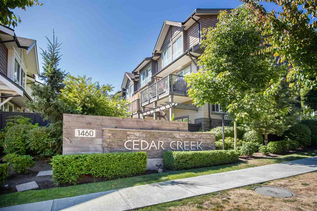 Cedar Creek Estates, Burke Mountain's best townhome value! Large size living room and bedrooms w/ vaulted ceilings. Quality standard features include: Bosch stainless steel appliances, Maple shaker bathroom cabinets, granite countertops, fully fenced yards & fantastic views. Surrounded by schools, parks & recreation facilities are close by. A Must See !   Open House Cancelled / Accepted Offer